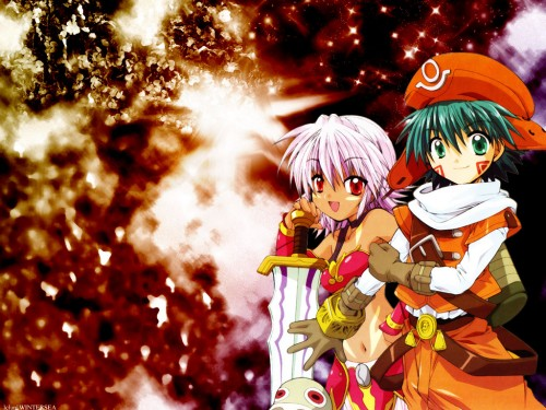 Yoshiyuki Sadamoto, Rei Izumi, Bee Train, .hack//Legend of the Twilight, Rena Kunisaki Wallpaper