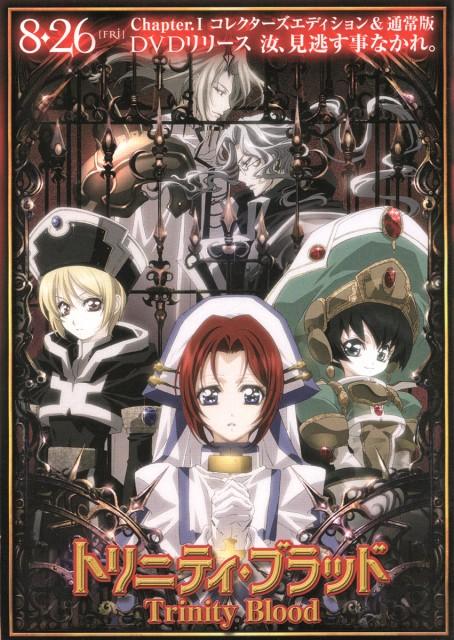 Atsuko Nakajima, Trinity Blood, Seth Nightroad, Ion Fortuna, Cain Nightroad