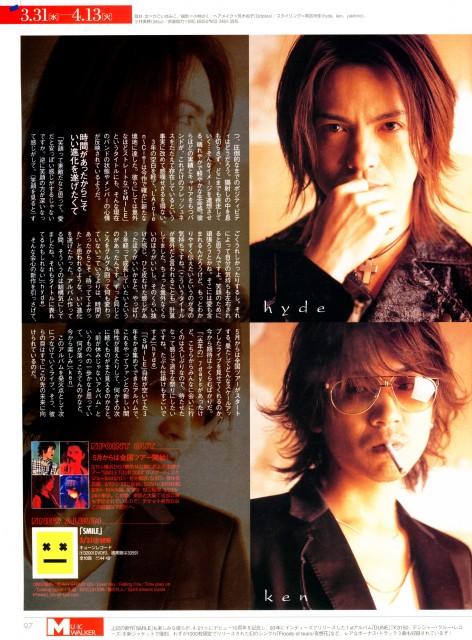 Hyde (J-Pop Idol), Ken Kitamura, L'Arc~en~Ciel