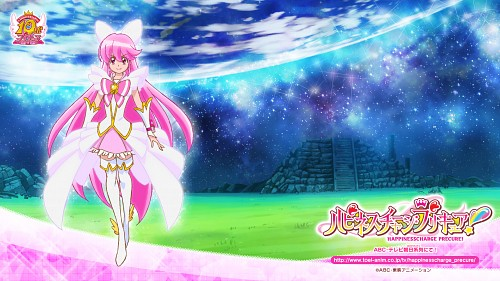 Toei Animation, HappinessCharge Precure!, Cure Lovely, Official Wallpaper