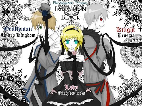 Hidekaz Himaruya, Studio Deen, Hetalia: Axis Powers, Vocaloid, England