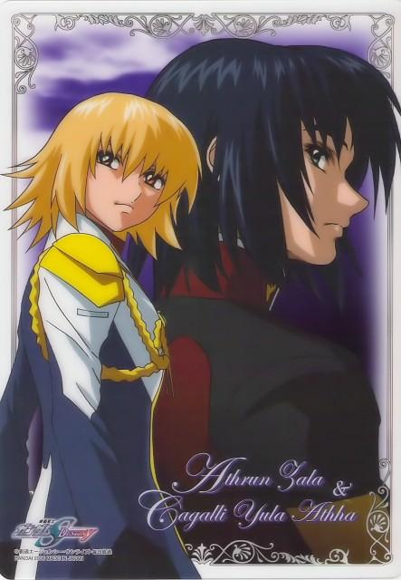 Sunrise (Studio), Mobile Suit Gundam SEED Destiny, Cagalli Yula Athha, Athrun Zala