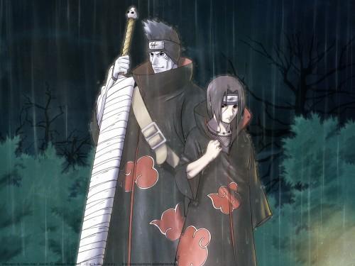 Masashi Kishimoto, Studio Pierrot, Naruto, Kisame Hoshigaki, Itachi Uchiha Wallpaper