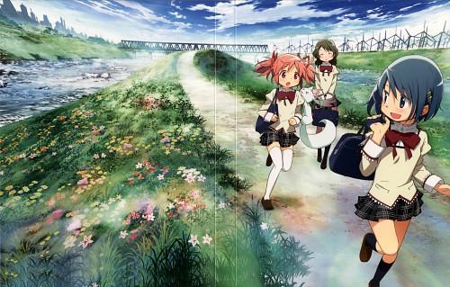 Ume Aoki, Shaft (Studio), Puella Magi Madoka Magica, Madoka Kaname, Hitomi Shizuki