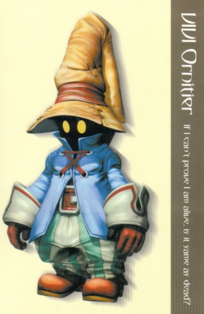 Square Enix, Final Fantasy IX Postcard Book, Final Fantasy IX, Vivi Ornitier