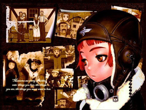 Range Murata, Gonzo, Last Exile, Lavie Head Wallpaper