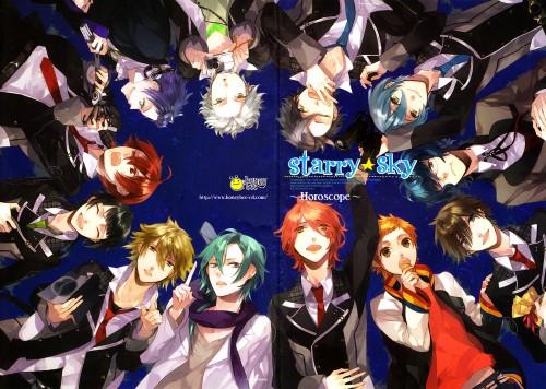Kazuaki, Starry Sky Art Book Vol.1, Starry Sky, Ryunosuke Miyaji, Iku Mizushima