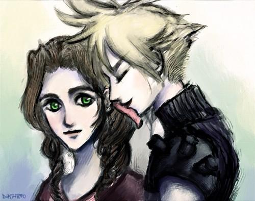final fantasy vii you make me smile minitokyo