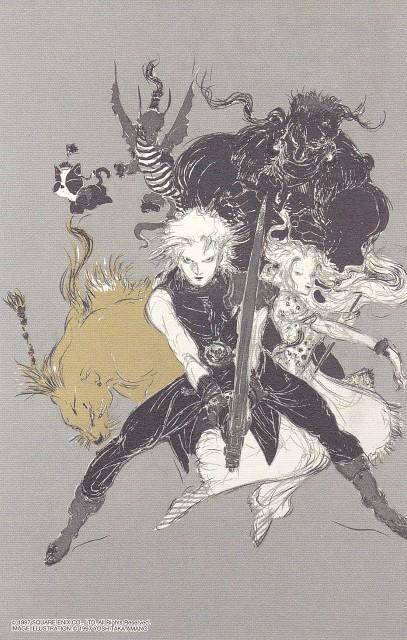 Yoshitaka Amano, Square Enix, Dissidia Final Fantasy, Final Fantasy VII, Red XIII