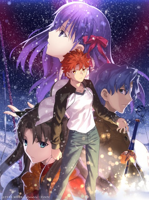 TYPE-MOON, Fate/stay night, Shinji Matou, Sakura Matou, Shiro Emiya