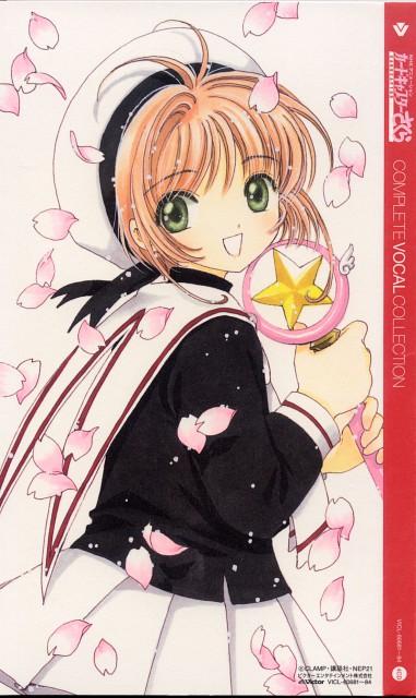 CLAMP, Cardcaptor Sakura, Sakura Kinomoto, Album Cover