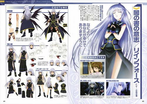 Seven Arcs, Mahou Shoujo Lyrical Nanoha, MSLN The Movie 2nd A's Official Complete Book, Reinforce, Character Sheet