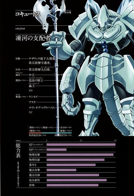 So-bin, Overlord (Series), Cocytus, Character Sheet
