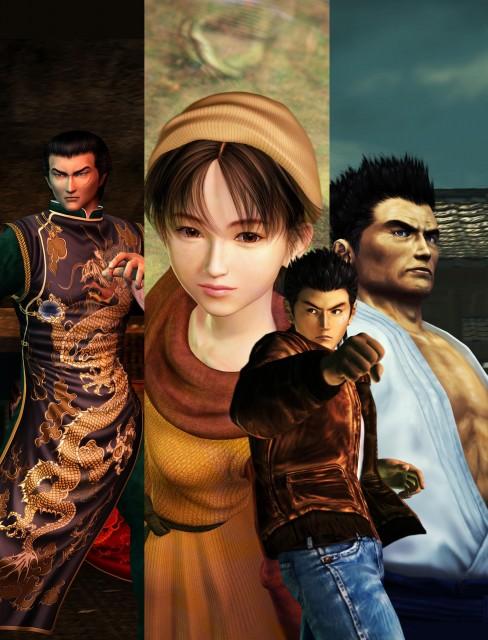 Sega, Shenmue, Iwao Hazuki, Lan Di, Shenhua Ling