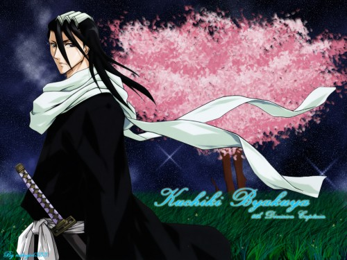 Kubo Tite, Studio Pierrot, Bleach, Byakuya Kuchiki Wallpaper