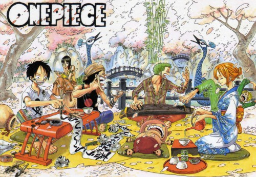 Eiichiro Oda, One Piece, Color Walk 3 - Lion, Tony Tony Chopper, Roronoa Zoro
