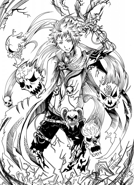 Oh! Great, Air Gear, Nue (Air Gear), Member Art