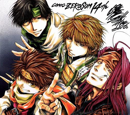 Kazuya Minekura, Saiyuki, Sha Gojyo, Cho Hakkai, Genjyo Sanzo