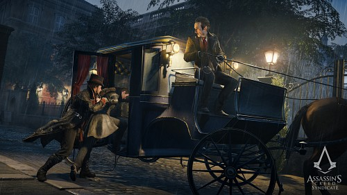 Ubisoft, Assassin's Creed Syndicate, Maxwell Roth, Jacob Frye, Game CG
