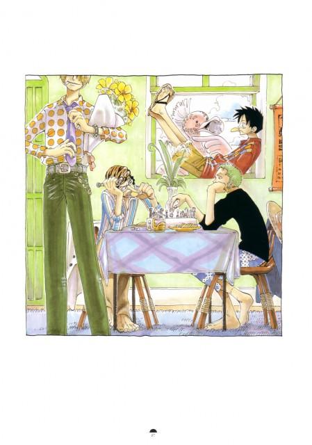 Eiichiro Oda, Arr Matey!, Color Walk 2, Usopp, Roronoa Zoro