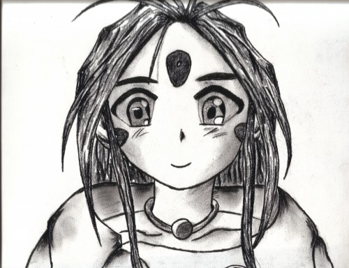 Kousuke Fujishima, Ah! Megami-sama, Skuld, Member Art