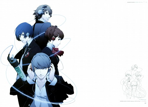 Shigenori Soejima, Persona: Trinity Soul, Soejima Shigenori Artworks 2004-2010, Shin Megami Tensei: Persona 3, Shin Megami Tensei: Persona 4