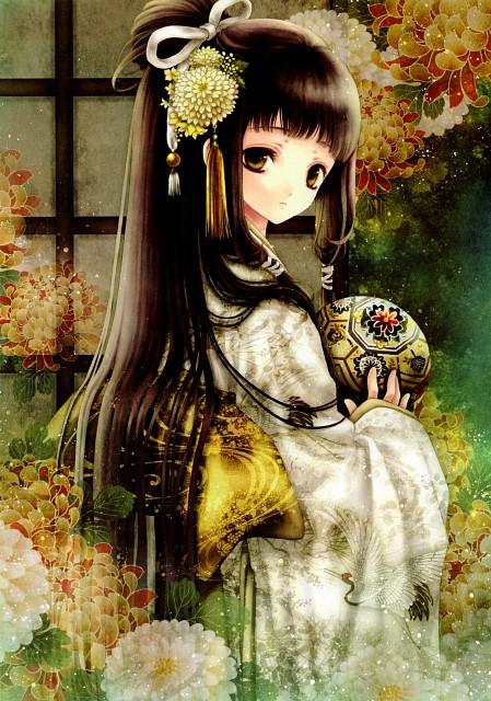Adumi Tohru, Irem, Sengoku e Satsu Yuugi Fujoki Collection of Pictures, Sengoku Efuda Yuugi: Hototogisu Tairan, Tokuhime
