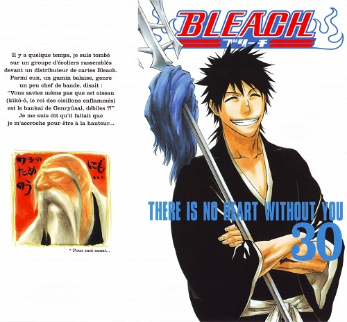 Kubo Tite, Bleach, Kaien Shiba, Shigekuni Yamamoto-Genryuusai, Manga Cover