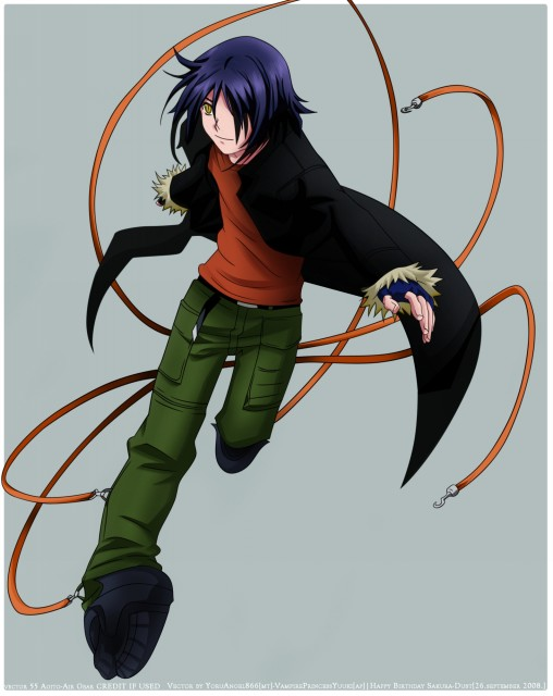Oh! Great, Toei Animation, Air Gear, Akito Wanijima, Vector Art