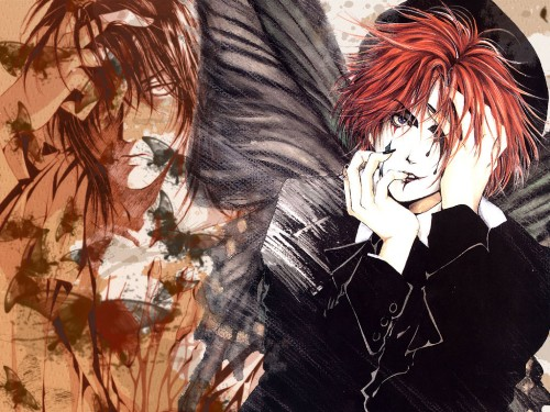 Kaori Yuki, Angel Sanctuary, Mad Hatter (Angel Sanctuary) Wallpaper