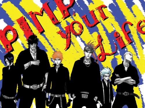 Kubo Tite, Studio Pierrot, Bleach, Renji Abarai, Ichigo Kurosaki Wallpaper
