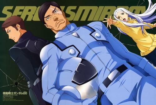 Mobile Suit Gundam 00, Soma Peries, Sergei Smirnov, Magazine Page