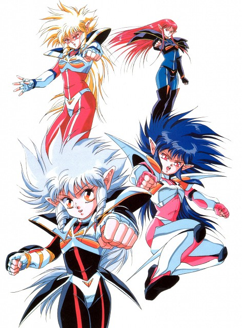 Iczer One (Series), Iczer Three, Atros, Iczer-2, Iczer-1
