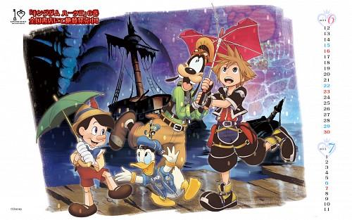 Shiro Amano, Square Enix, Kingdom Hearts, Sora, Pinocchio