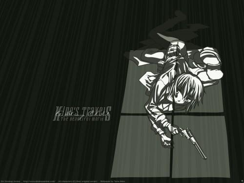 Kouhaku Kuroboshi, Kino no Tabi, Kino, Vector Art Wallpaper