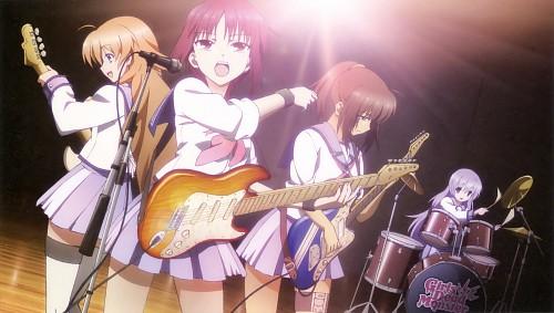 Key (Studio), Angel Beats!, Angel Beats! Official Guide Book, Miyuki Irie, Hisako (Angel Beats!)