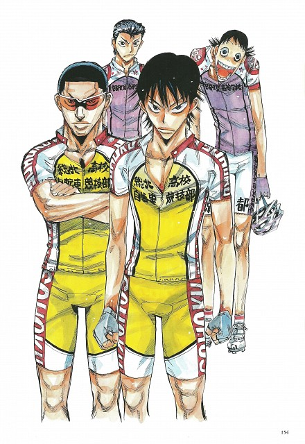Wataru Watanabe, TMS Entertainment, Yowamushi Pedal, Yowamushi Pedal Colors, Shunsuke Imaizumi