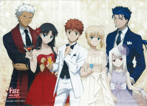 Ufotable, TYPE-MOON, Fate/stay night, Archer (Fate/stay night), Shiro Emiya