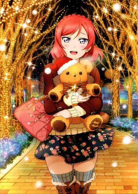 Sunrise (Studio), School Idol Festival Official Illustration Book 2, Love Live! School Idol Project, Maki Nishikino