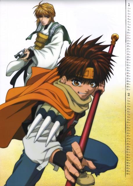 Kazuya Minekura, Studio Pierrot, Saiyuki, Genjyo Sanzo, Son Goku (Saiyuki)