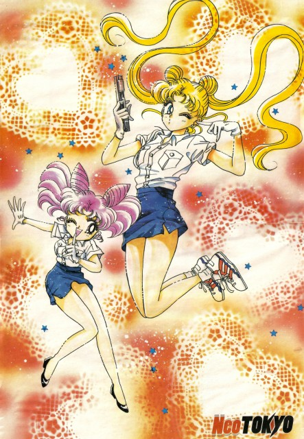 Naoko Takeuchi, Bishoujo Senshi Sailor Moon, BSSM Materials Collection, Chibi Usa, Usagi Tsukino