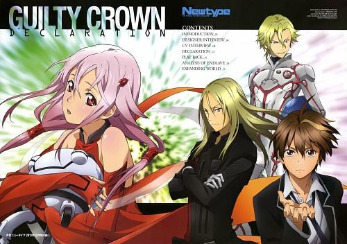 Satonobu Kikuchi, Production I.G, GUILTY CROWN, Inori Yuzuriha, Shu Ouma