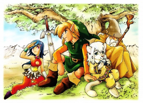 Nintendo, The Legend of Zelda, The Legend of Zelda: A Link to the Past, Ganty, Young Link