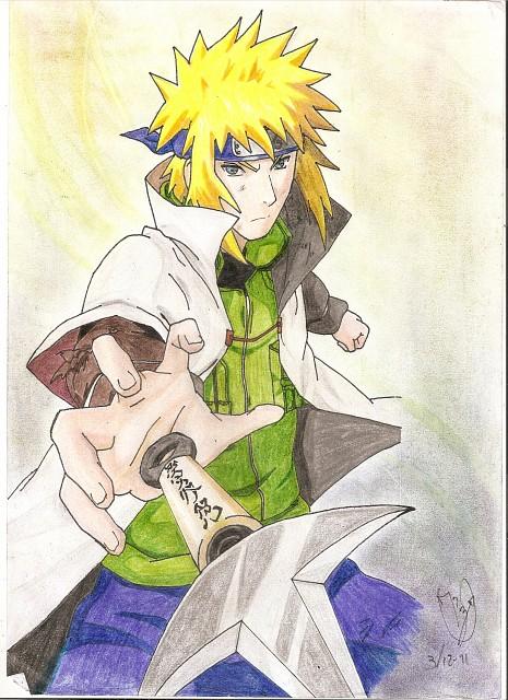 Masashi Kishimoto, Naruto, Minato Namikaze, Member Art