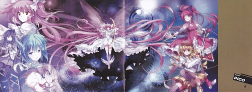 Pico, Puella Magi Madoka Magica, Abracadabra: Madoka Magica Fan Book, Sayaka Miki, Homura Akemi