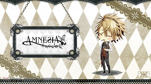 Mai Hanamura, Idea Factory, AMNESIA, Toma (AMNESIA), Official Wallpaper