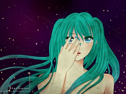 Vocaloid, Miku Hatsune, Member Art Wallpaper