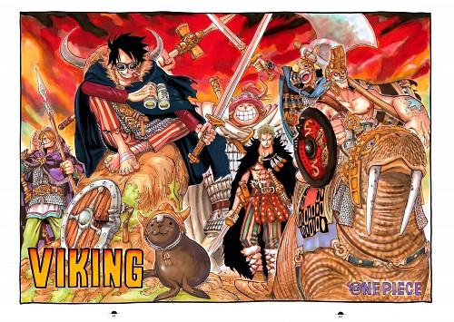 Eiichiro Oda, Toei Animation, One Piece, Color Walk 5 - Shark, Usopp