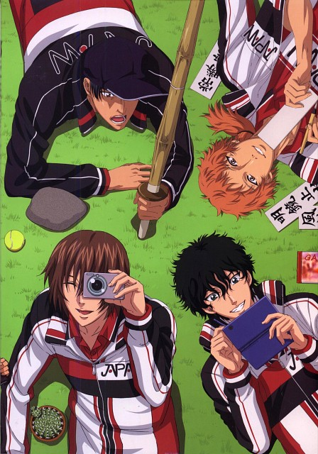 Takeshi Konomi, Production I.G, Prince of Tennis, Yamato Yuudai, Akaya Kirihara