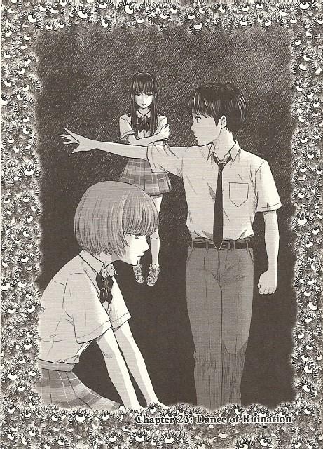 Shuuzou Oshimi, Aku no Hana, Takao Kasuga, Nanako Saeki, Sawa Nakamura
